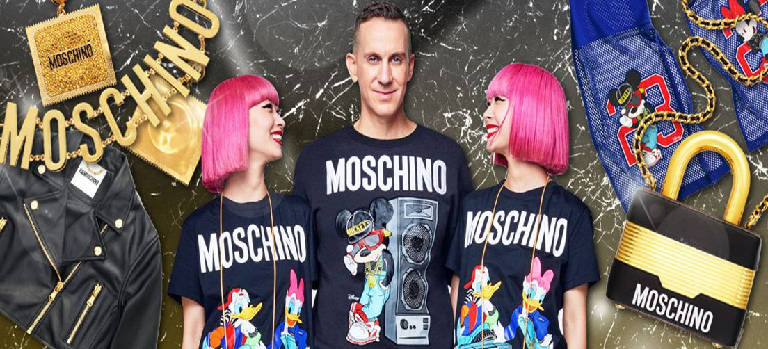 MOSCHINO, L'IRRIVERENZA DI UN BRAND POP