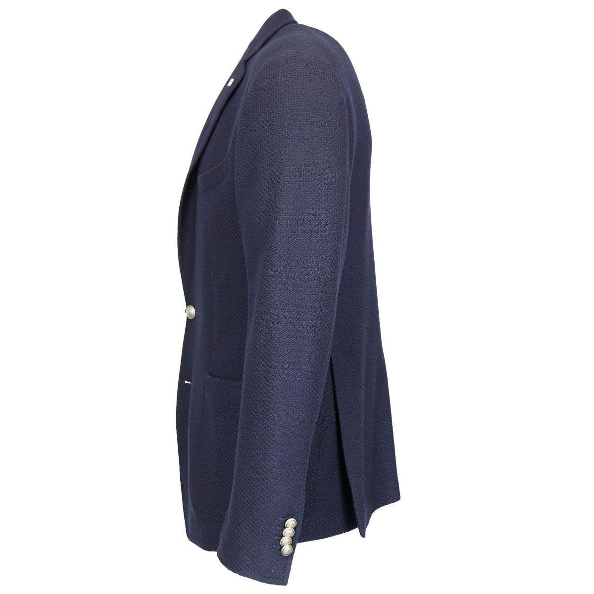 Giacca in jersey di lana Navy Tagliatore