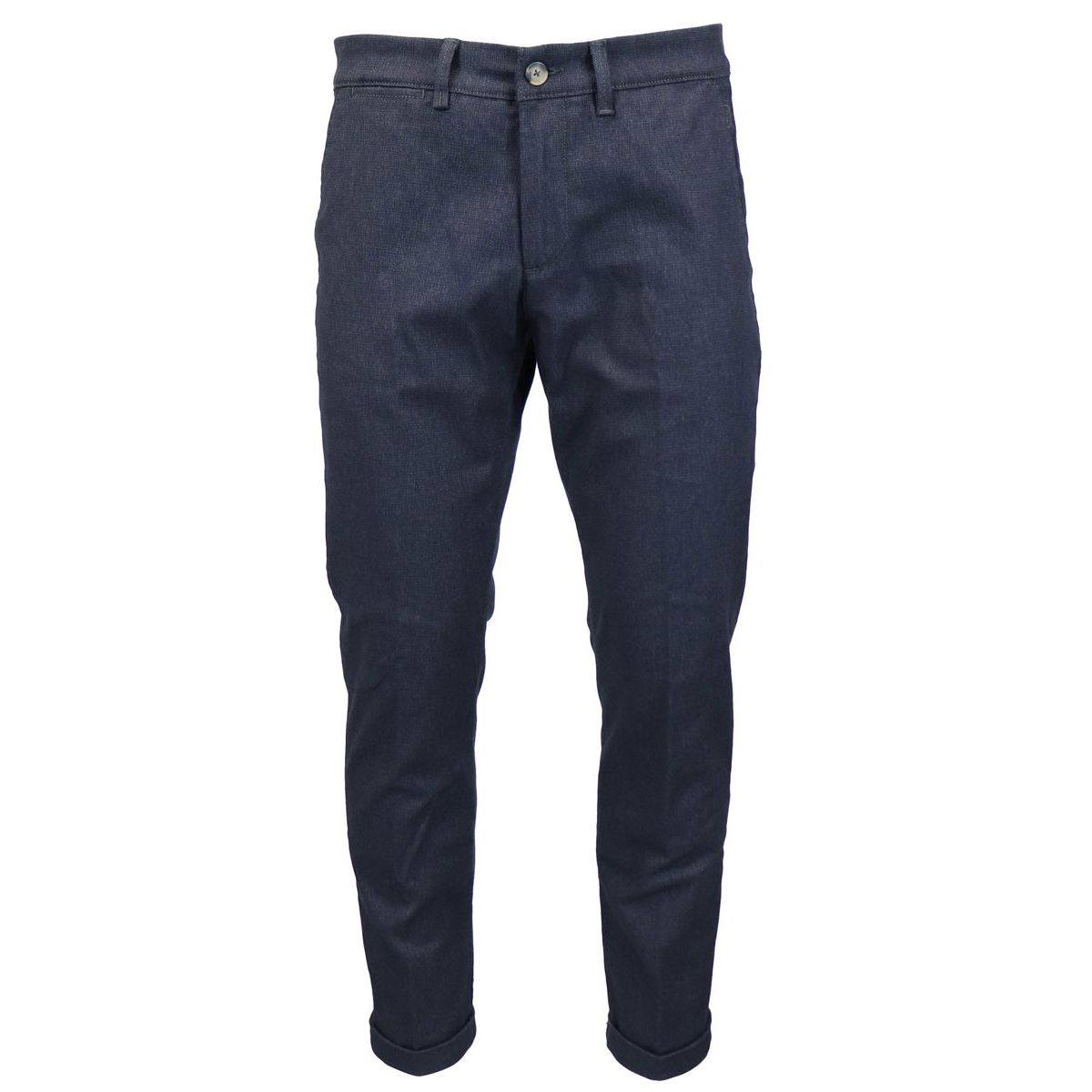 Slim cotton jeans with america pockets Dark denim Jeckerson
