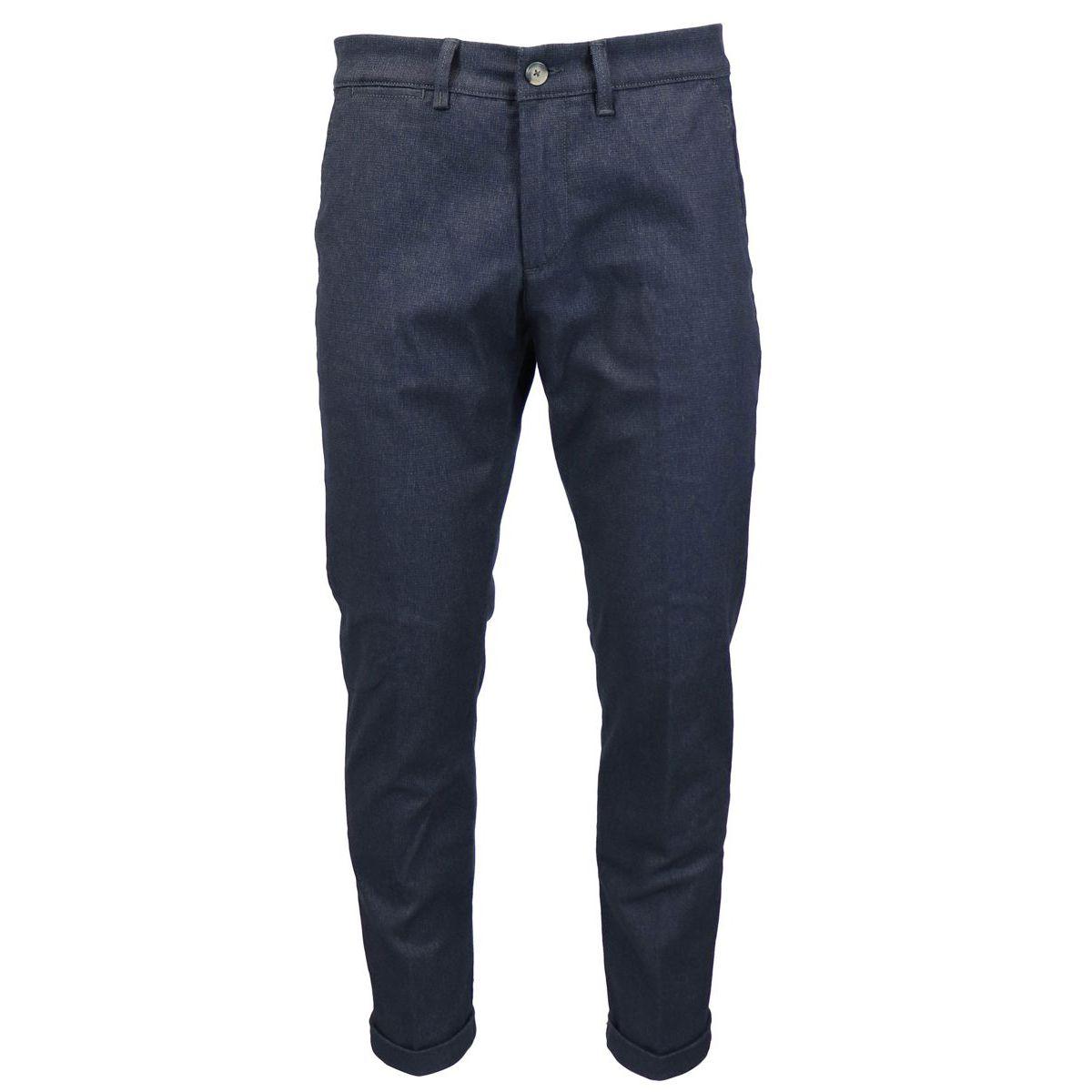 Slim cotton jeans with america pockets Dark denim Jeckerson