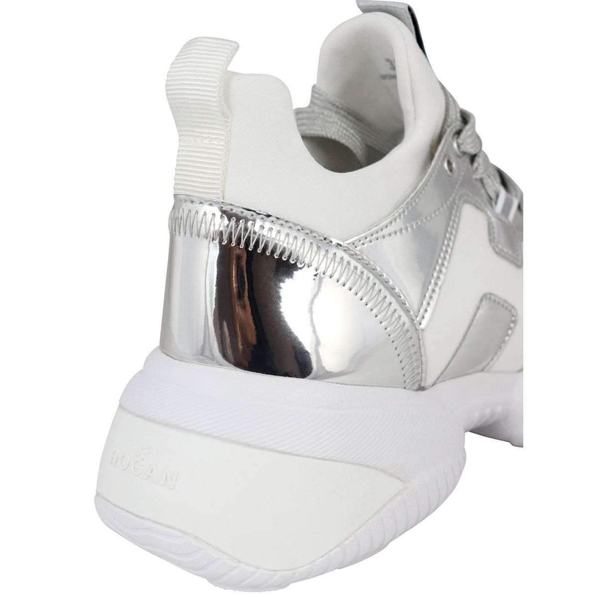 Sneakers INTERACTION Silver / white Hogan