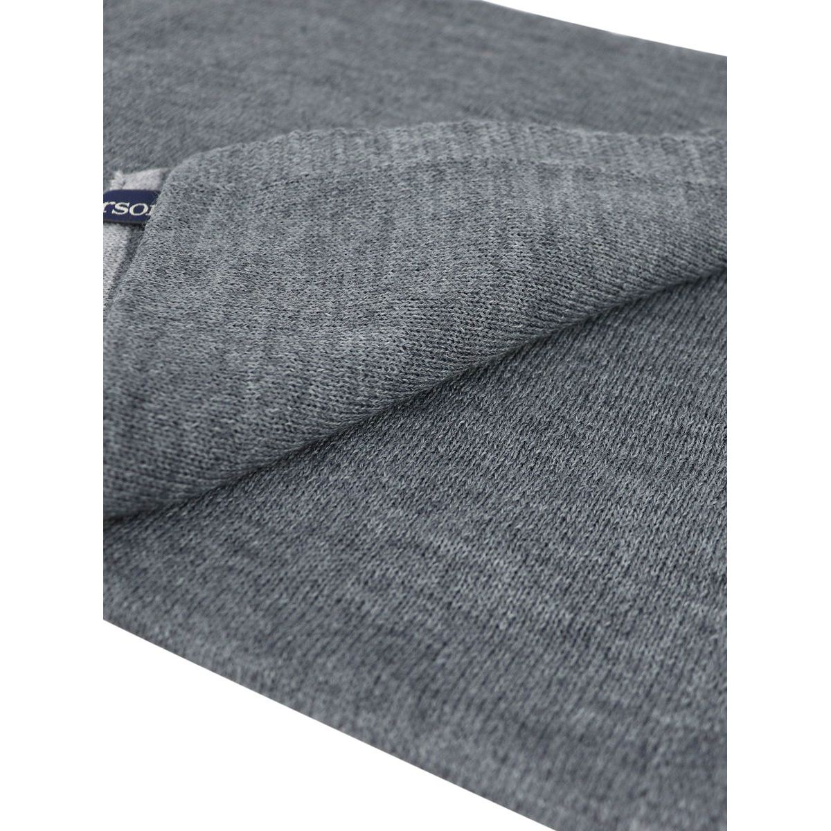 Wool blend scarf with contrasting edge Grey Jeckerson
