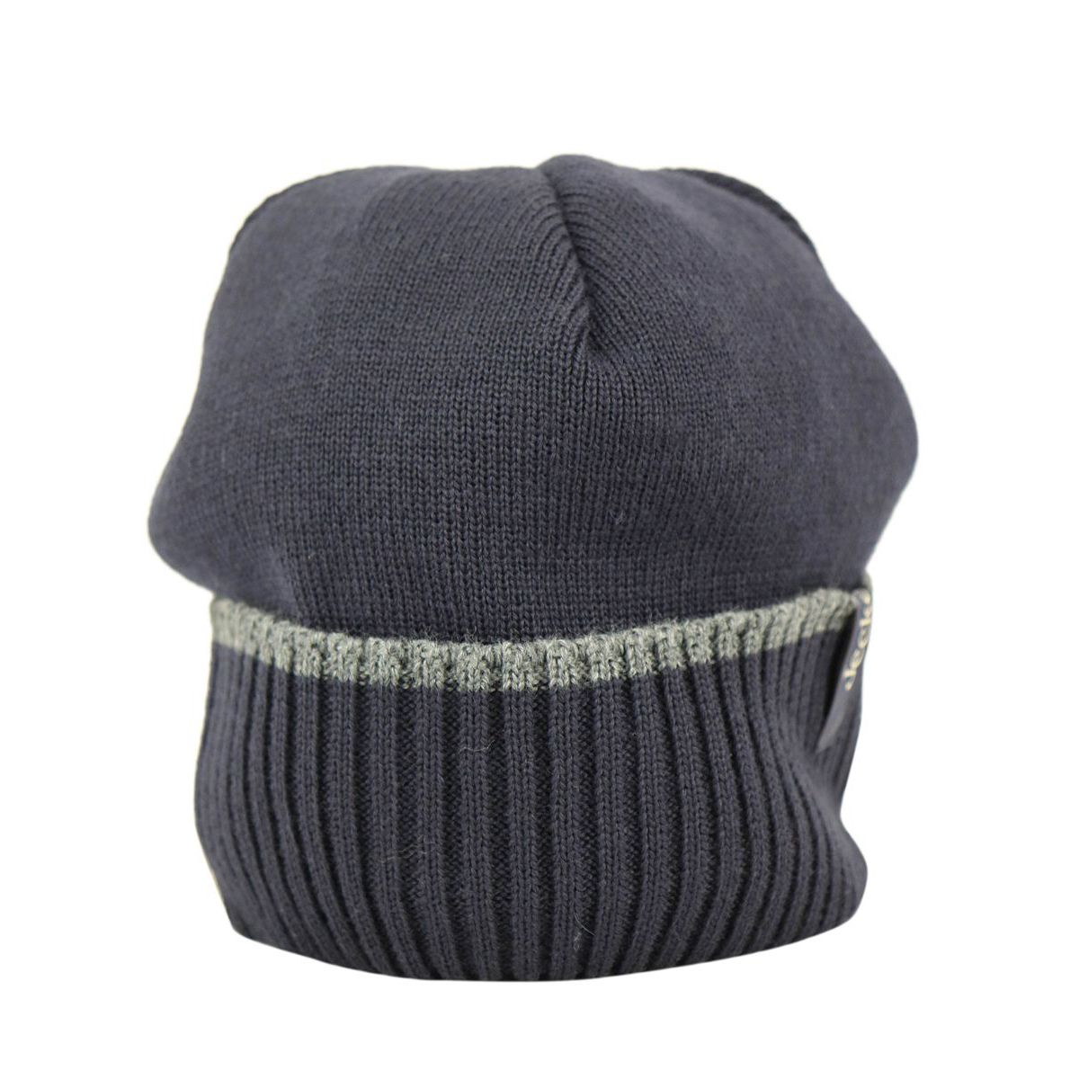 Wool blend hat with ribbed cuff Navy Jeckerson