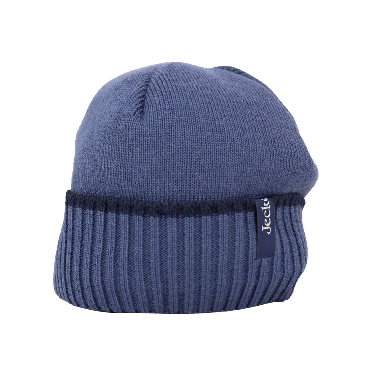 Wool blend hat with ribbed cuff Royal Jeckerson