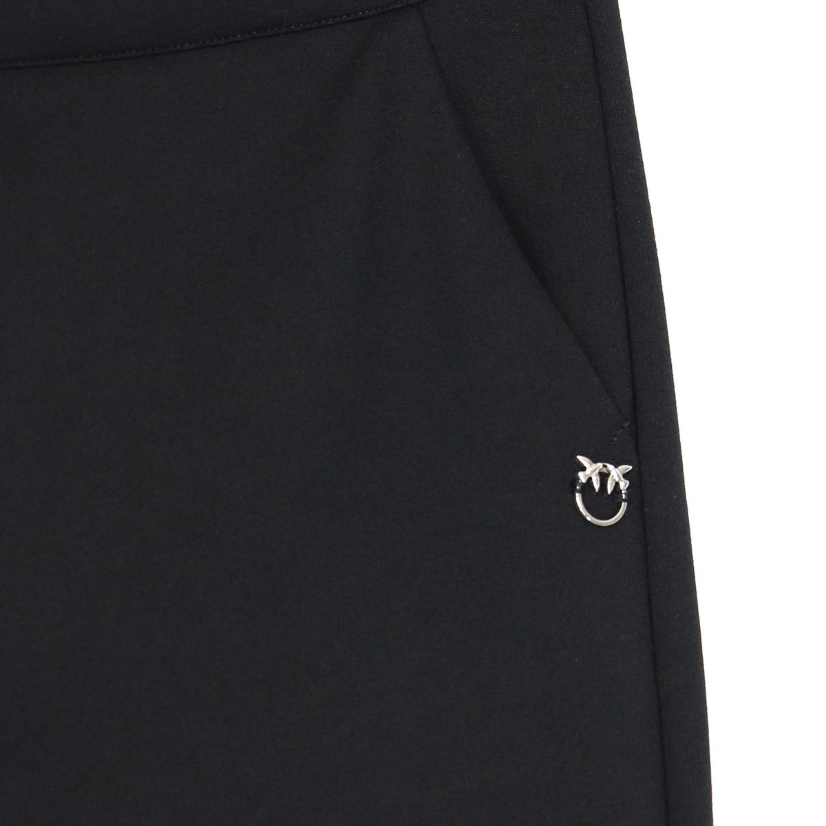 Tapered trousers in Milano stitch PHOTOGRAPHER Black Pinko