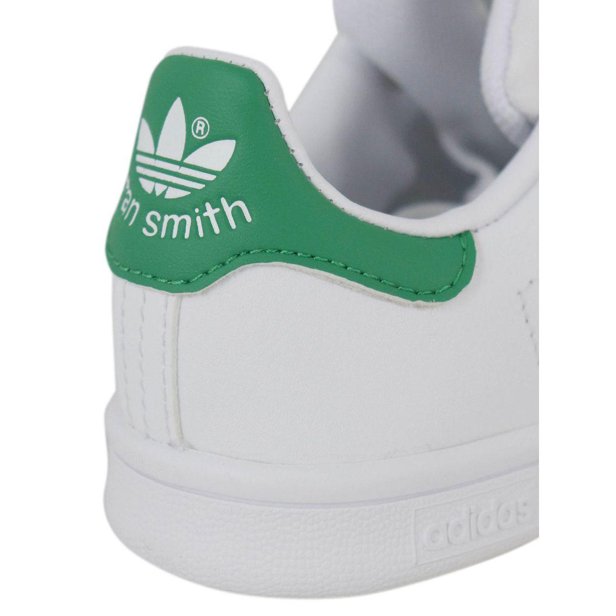 Sneakers BA8375 STAN SMITH White green Adidas