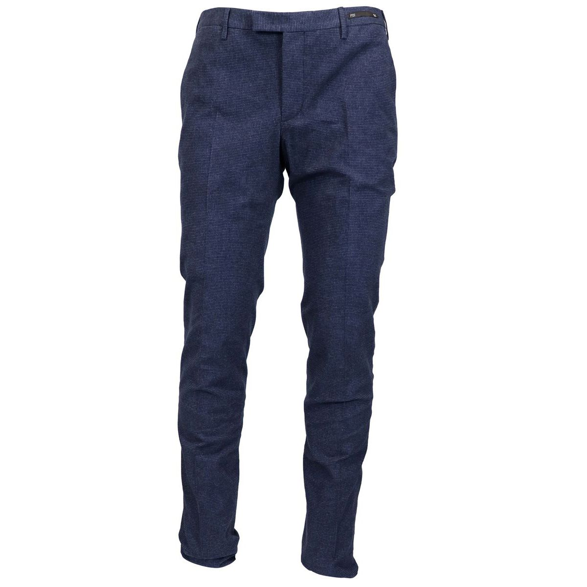 Skinny cotton trousers with america pockets Blue PT01