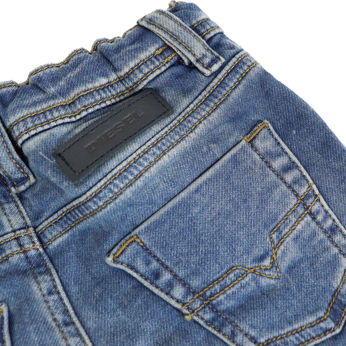 Newborn jeans in stretch denim KROOLEY Medium denim Diesel