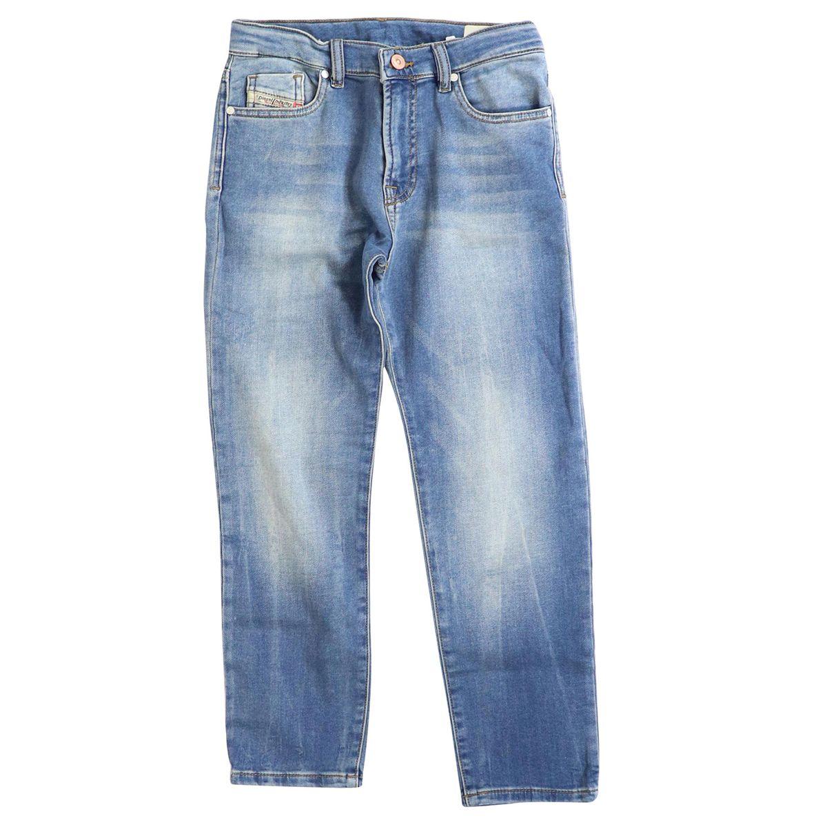 Stretch denim girl jeans MHARKY Medium denim Diesel
