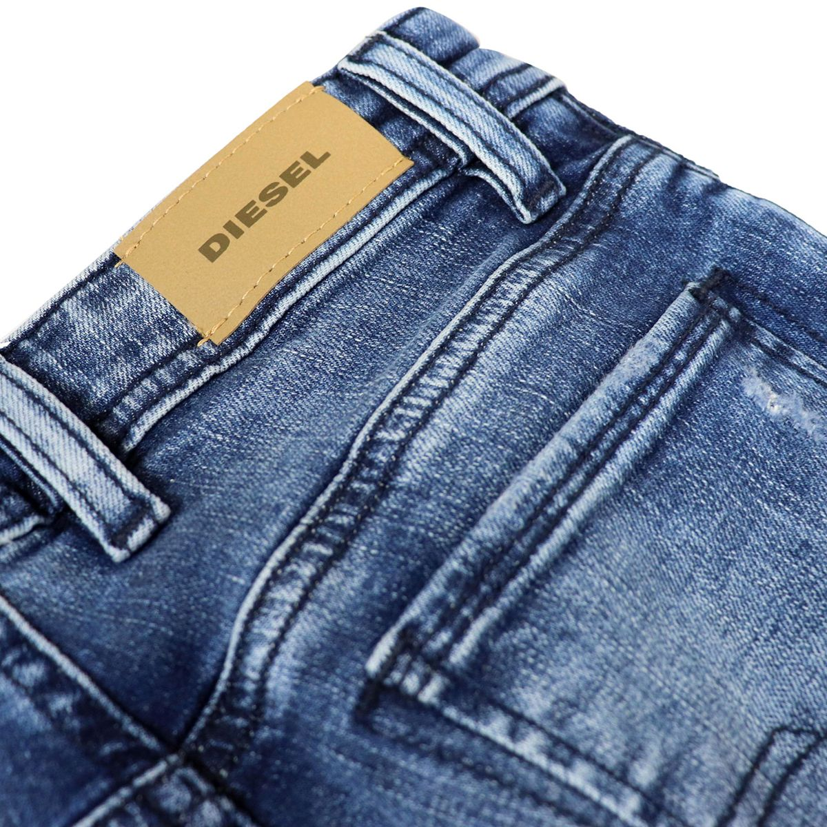 Jeans in light slim denim with breaks SLENKER Medium denim Diesel