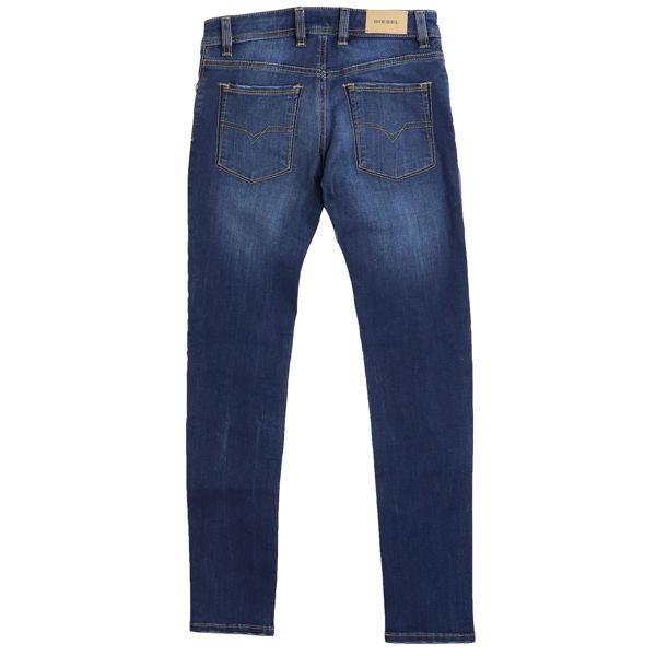 Jeans in slim stretch denim SLEENKER Dark denim Diesel