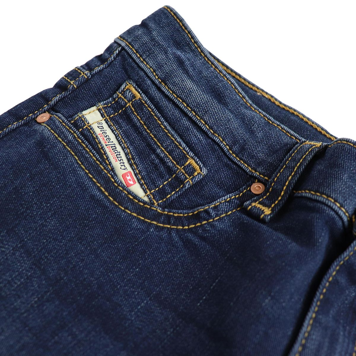 Jeans in stretch denim DHARY Dark denim Diesel