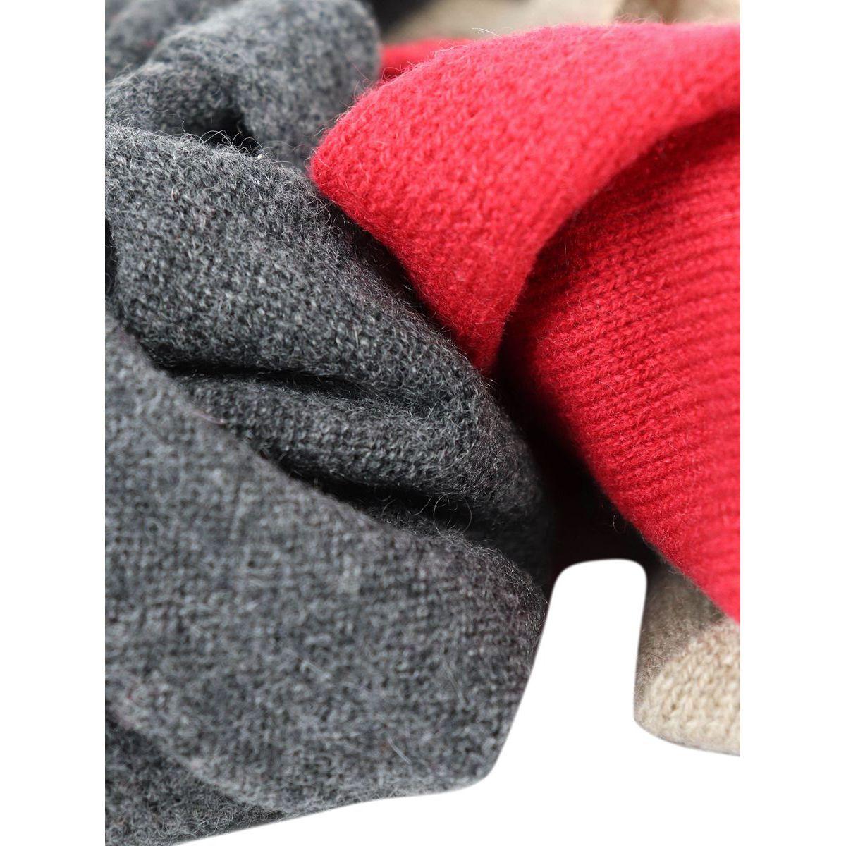 Neck in multicolor cashmere Grey Schonbberg
