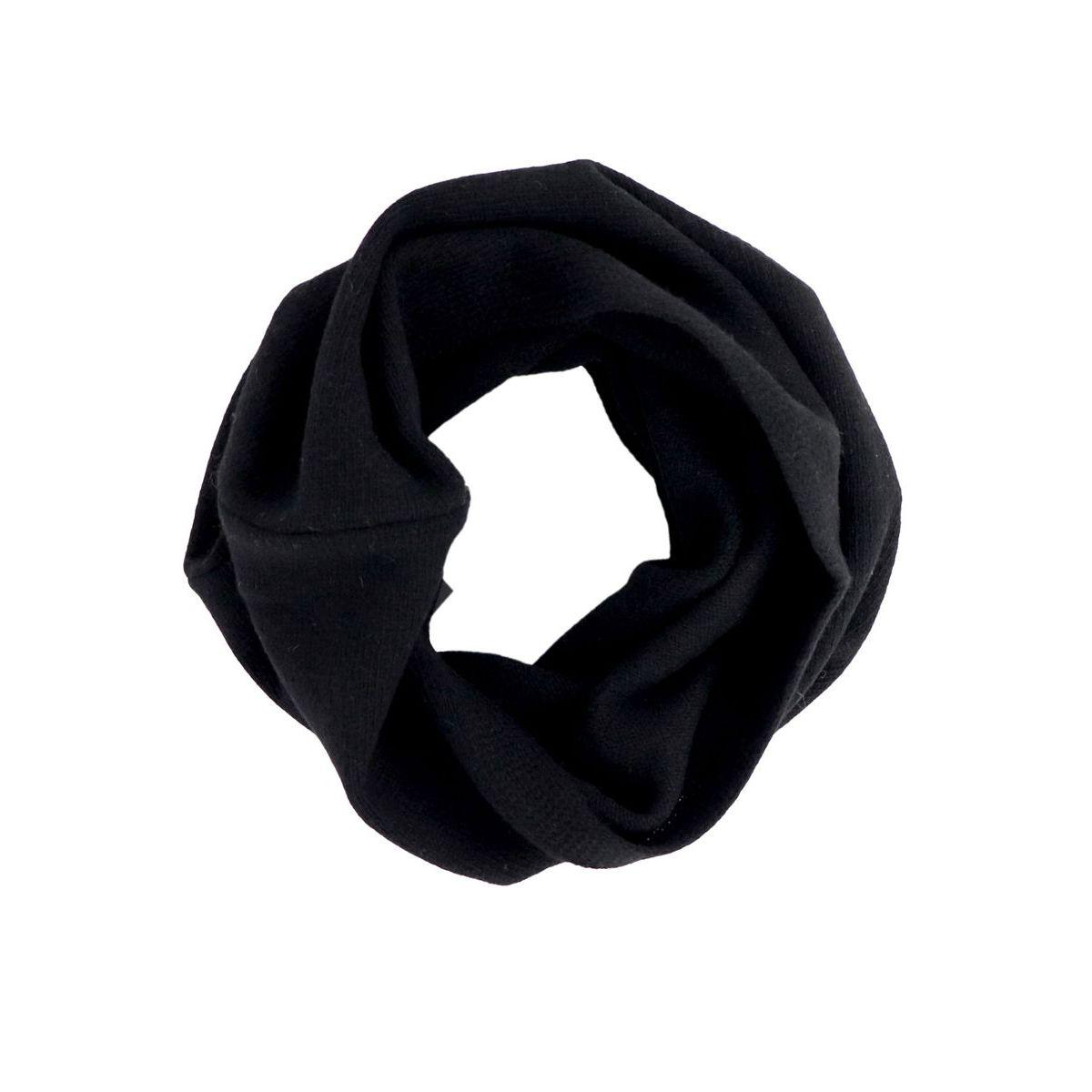 Cashmere collar Black Schonbberg