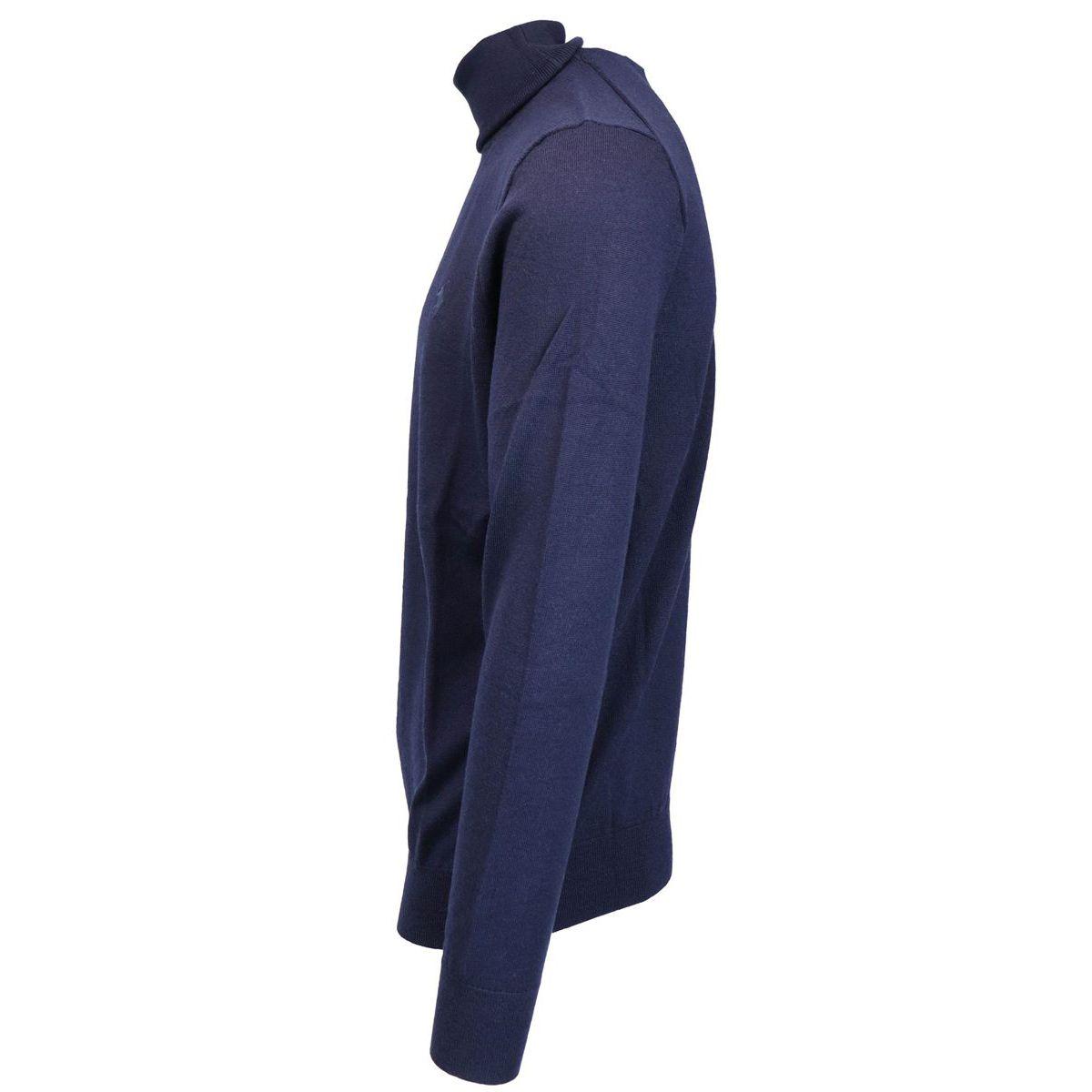 Wool turtleneck with logo Navy Polo Ralph Lauren