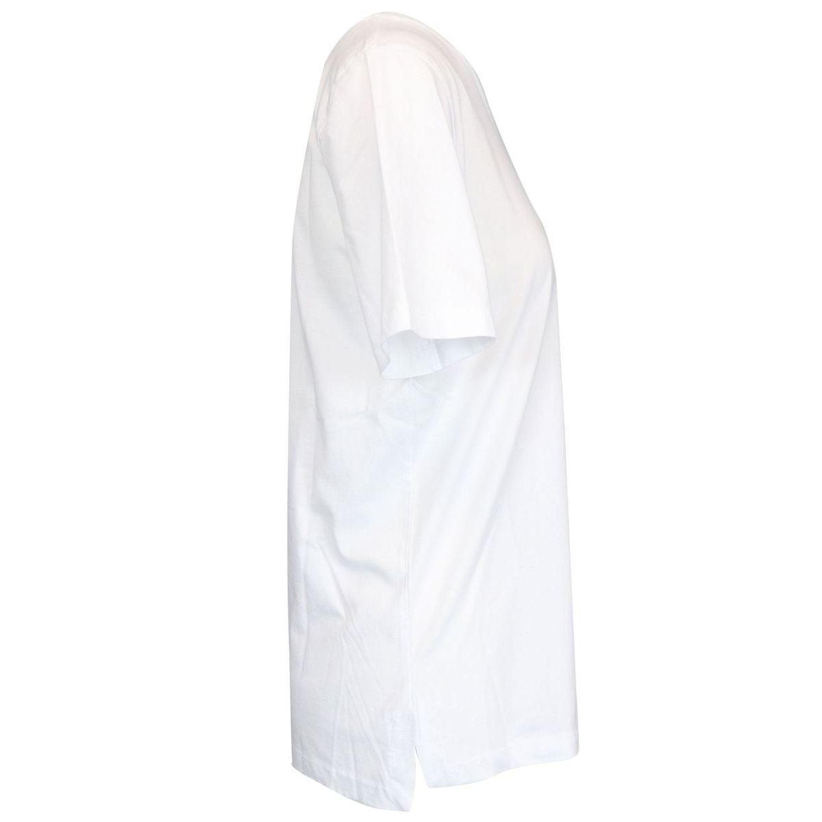 DELETTA short sleeve cotton t-shirt White Max Mara