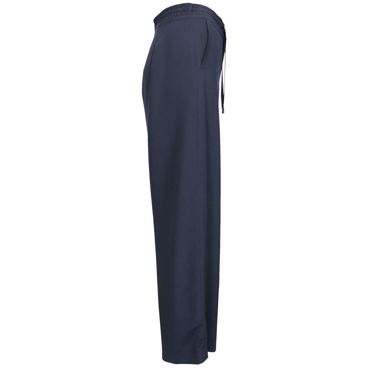 SULTANO silk trousers Blue Max Mara
