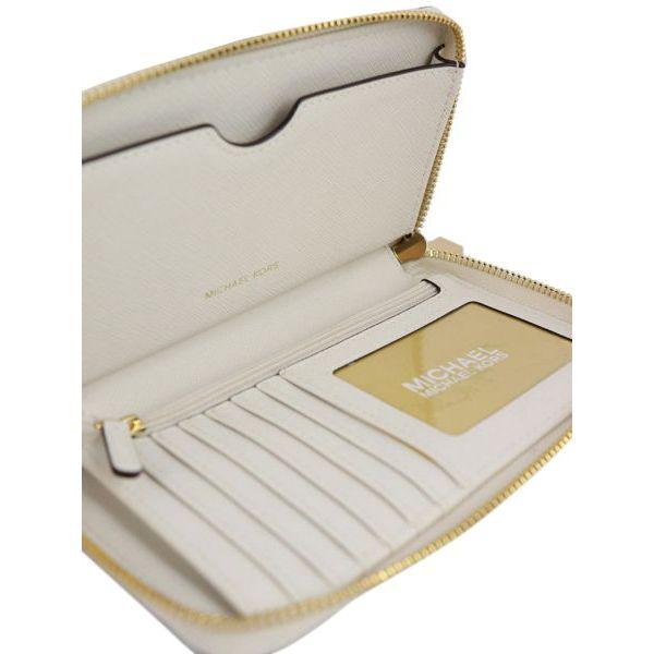 FLAT CASE wallet with detachable bracelet Vanilla Michael Kors