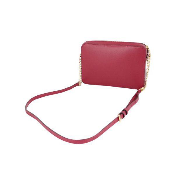 Large JET SET shoulder bag in saffiano leather Cherry Michael Kors