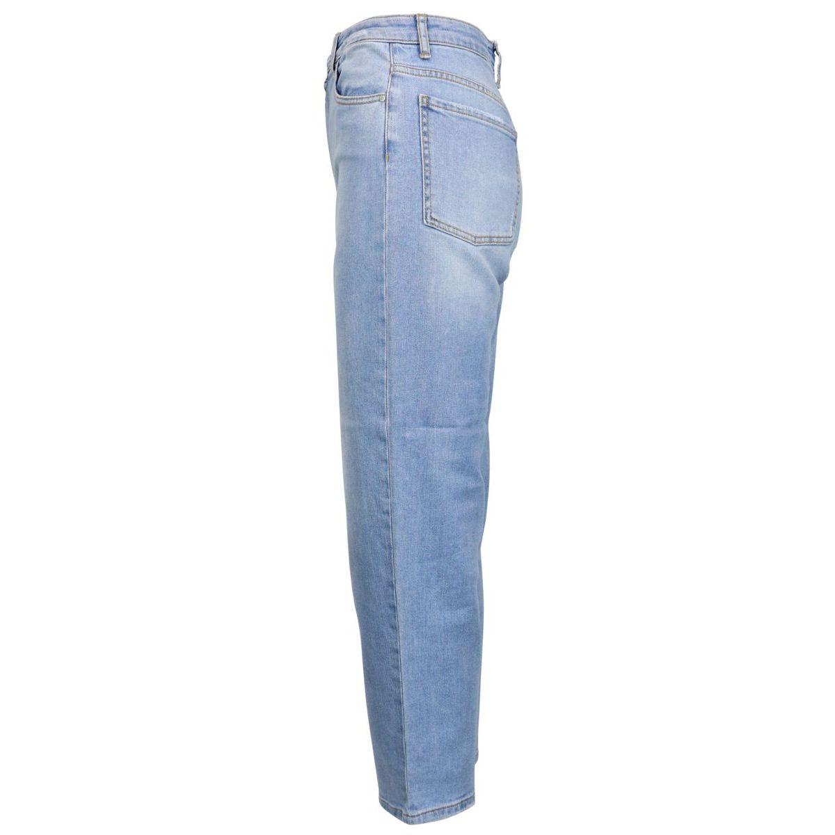 Maddie Mom girlfriend high waisted jeans Light denim Pinko