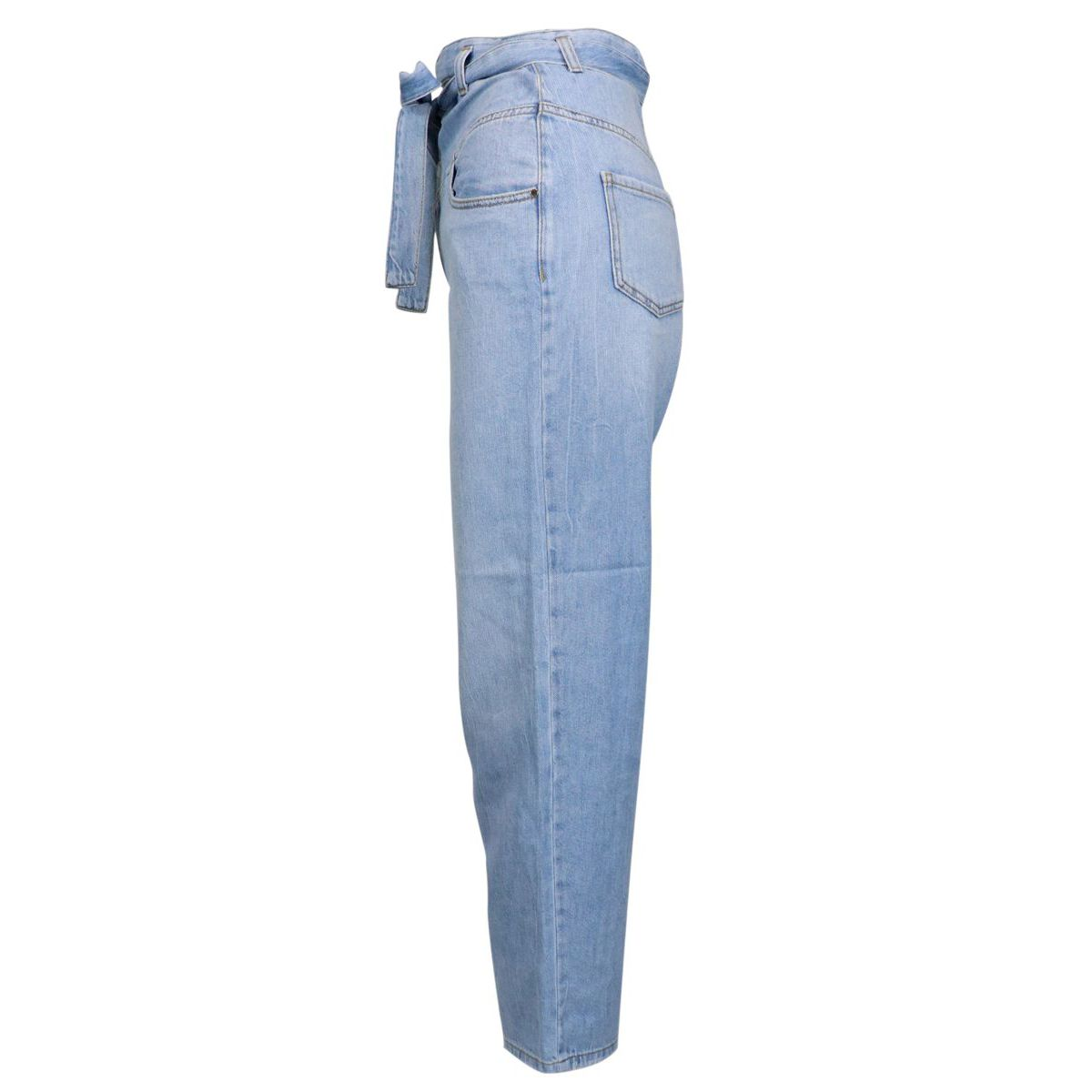 "CAROL high waist jeans ""carrot"" model Light denim Pinko"