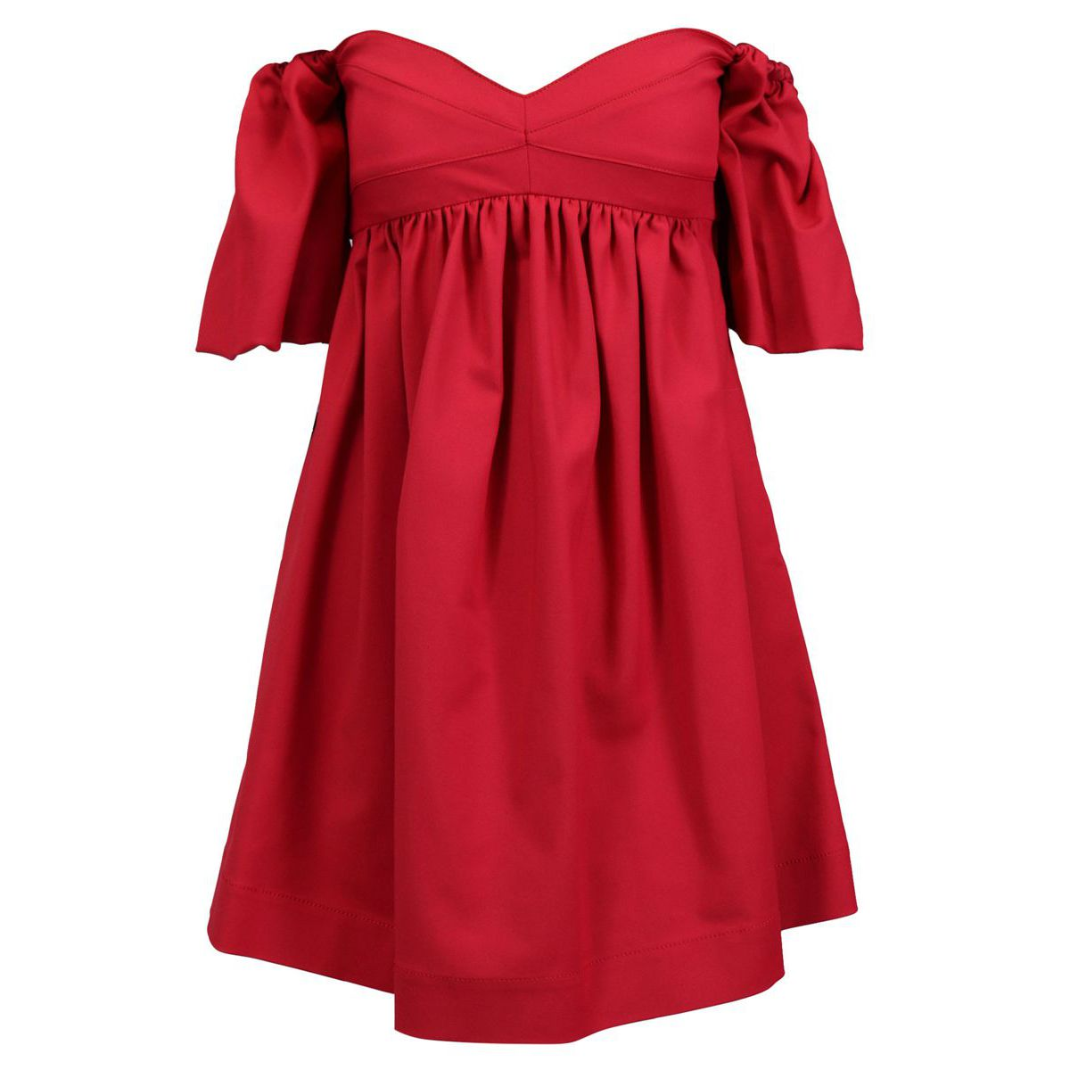 Pastiera dress with heart-shaped bodice Strawberry Pinko