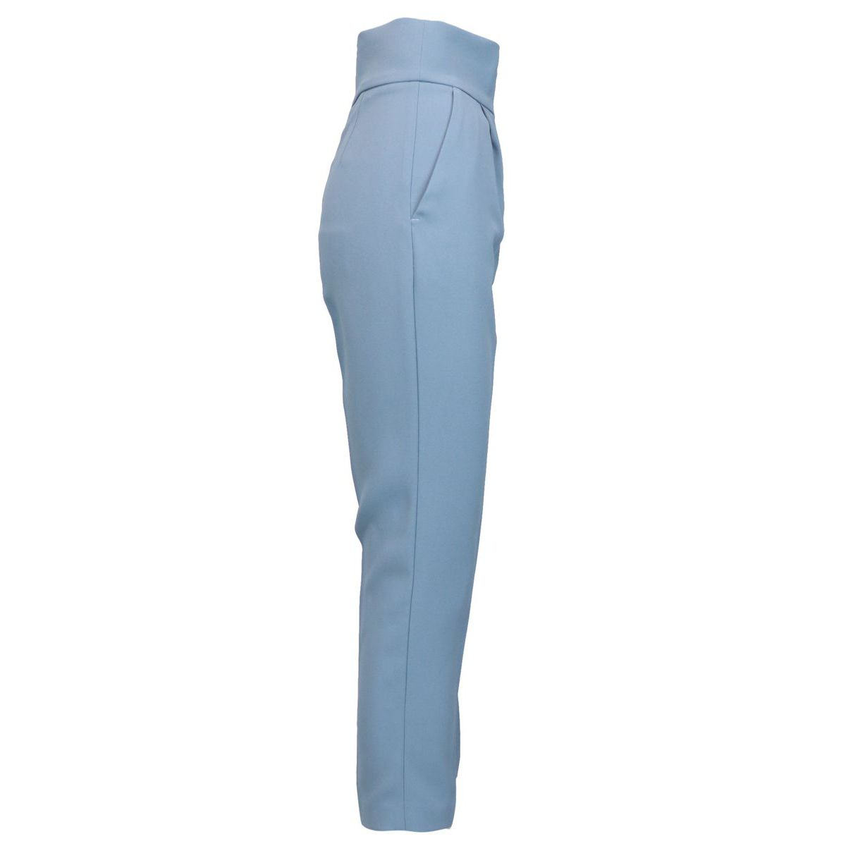 Natalia 3 high waist trousers Light blue powder Pinko