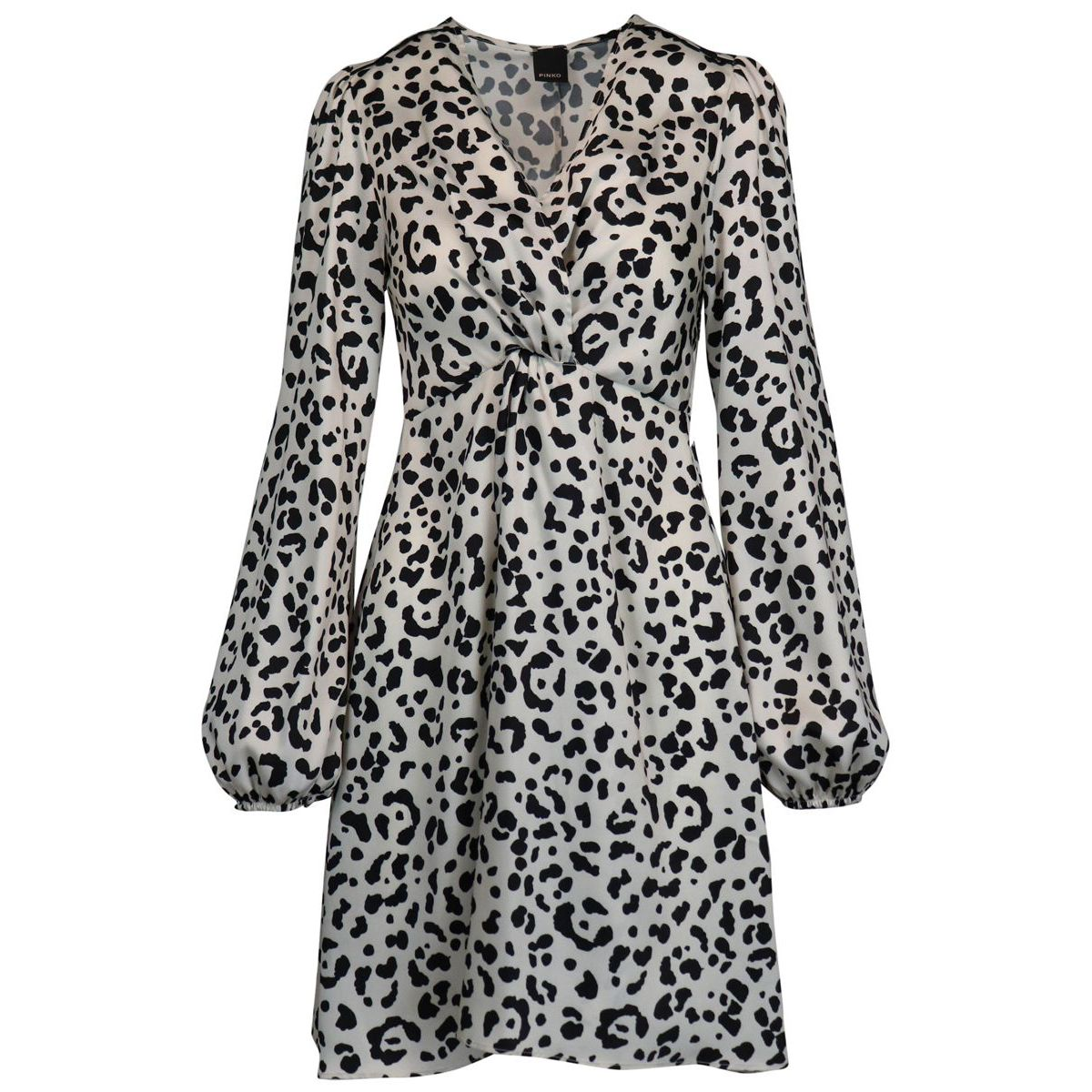 Frappe dress in viscose with spotted print Spotted Pinko