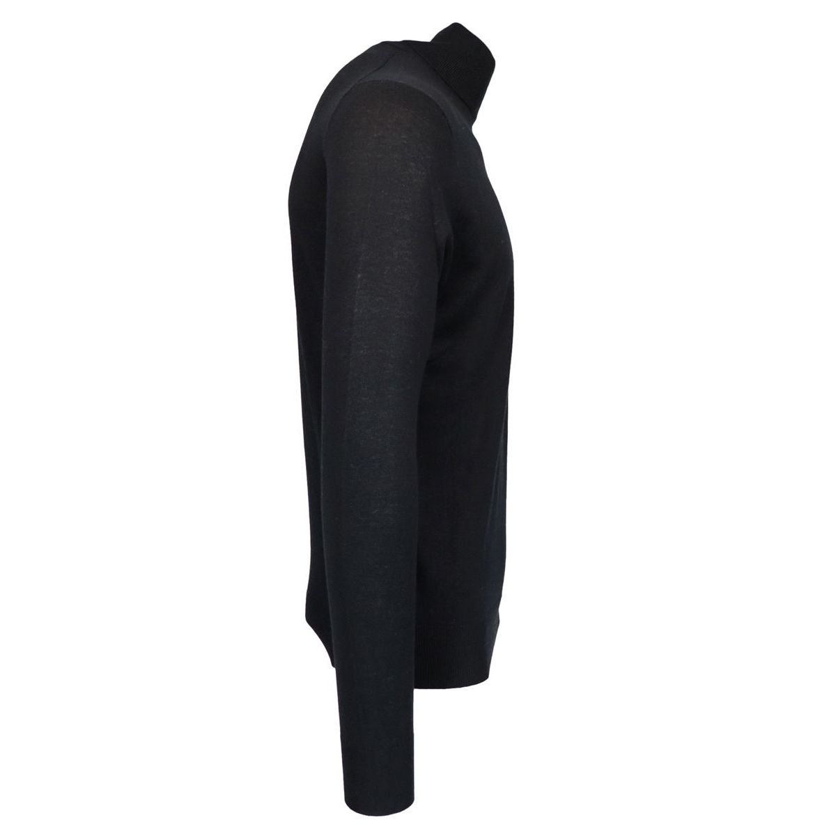 Turtleneck in silk and cashmere Black Alpha Studio