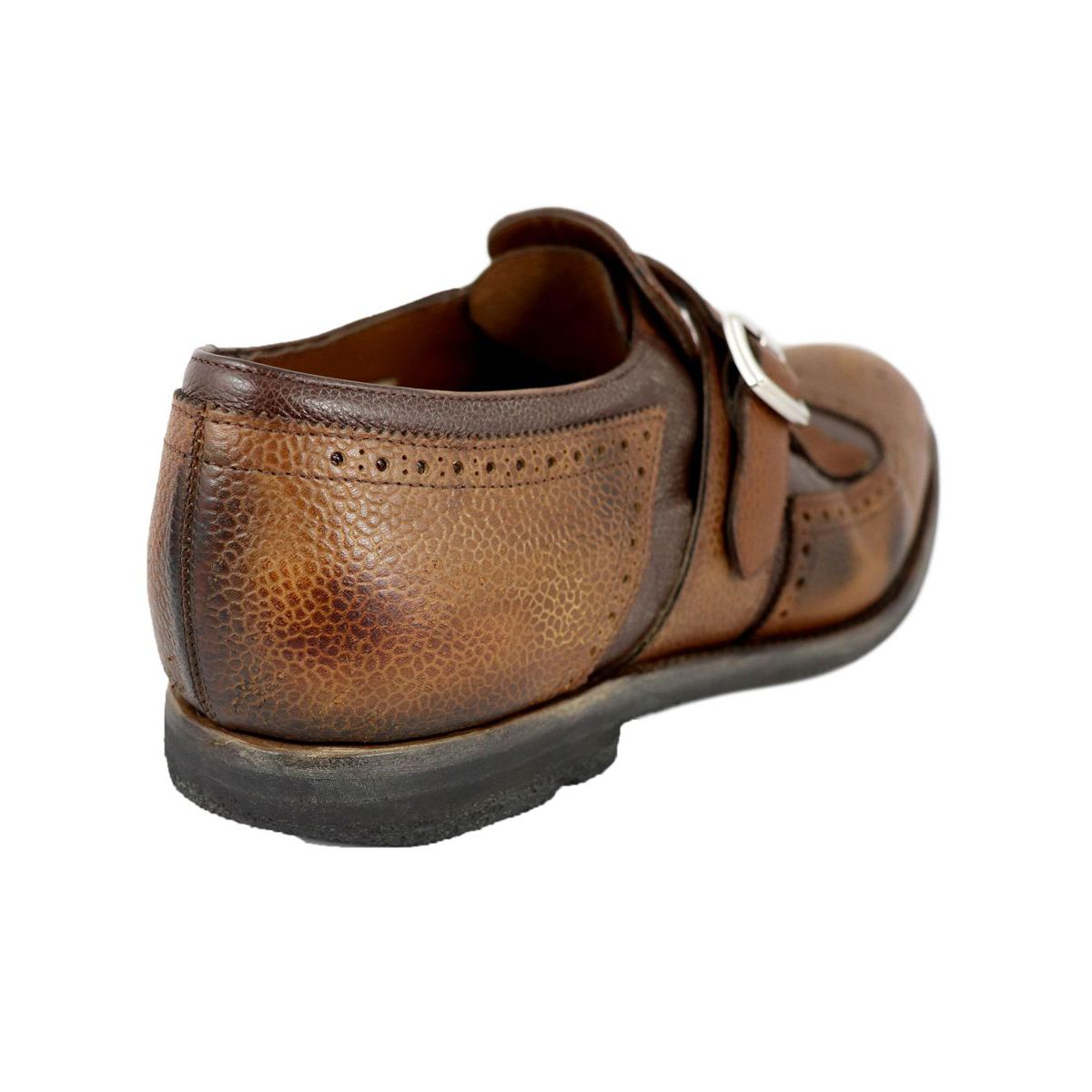 SHANGHAI moccasin with calfskin buckle Caramel Church's