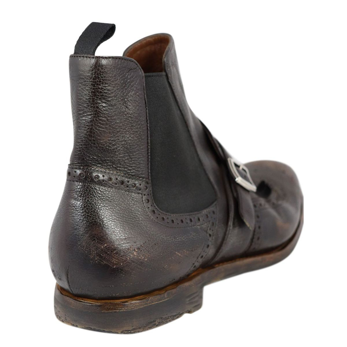 SHANGHAI 6 boot in glacé calf leather Brown Church's
