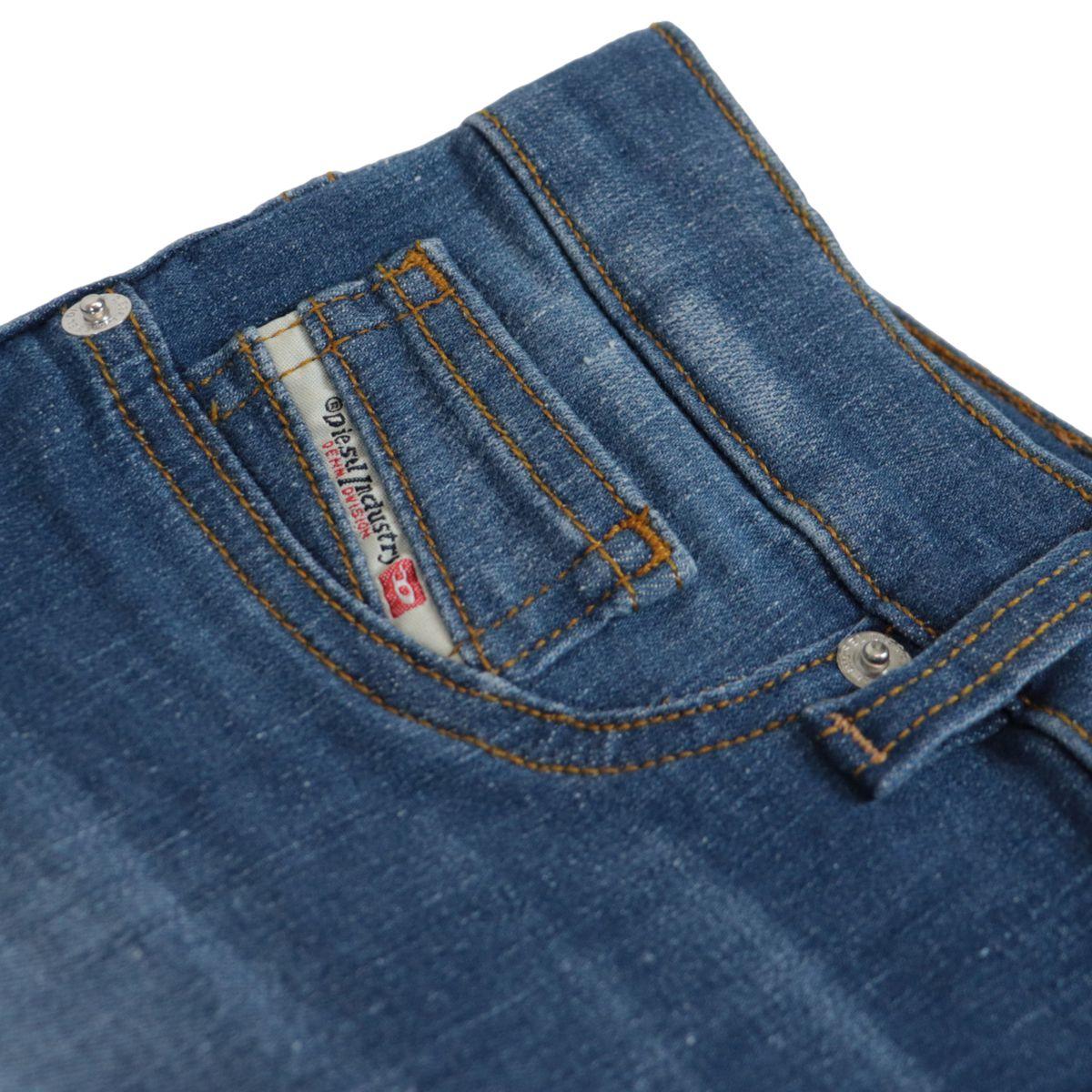 Dhary skinny jeans in used denim Medium denim Diesel