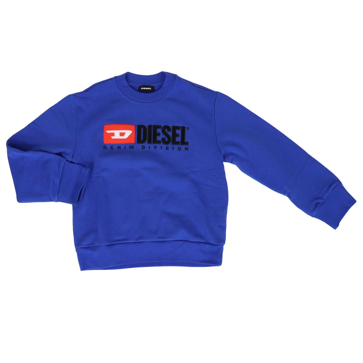 Cotton sweatshirt with logo print Bluette Diesel