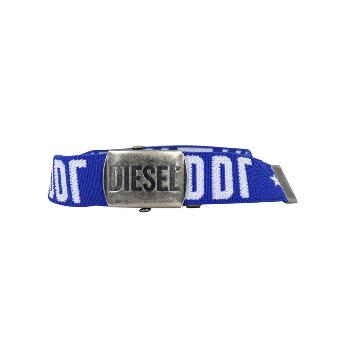 Stretch Barty belt with logo Bluette Diesel