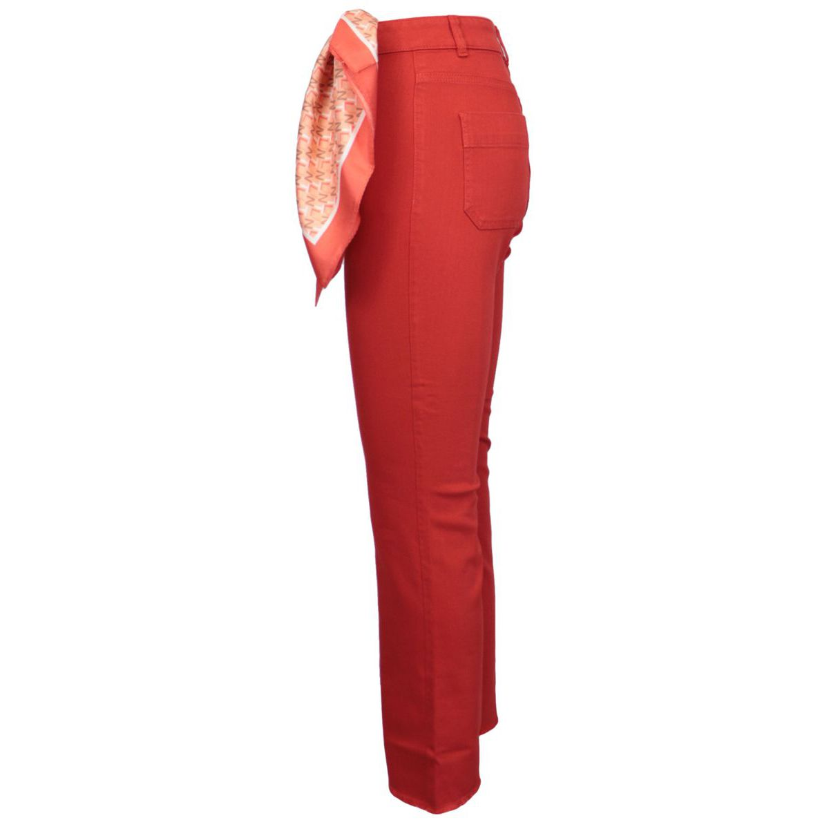 Sole trousers in stretch cotton Red Nenette