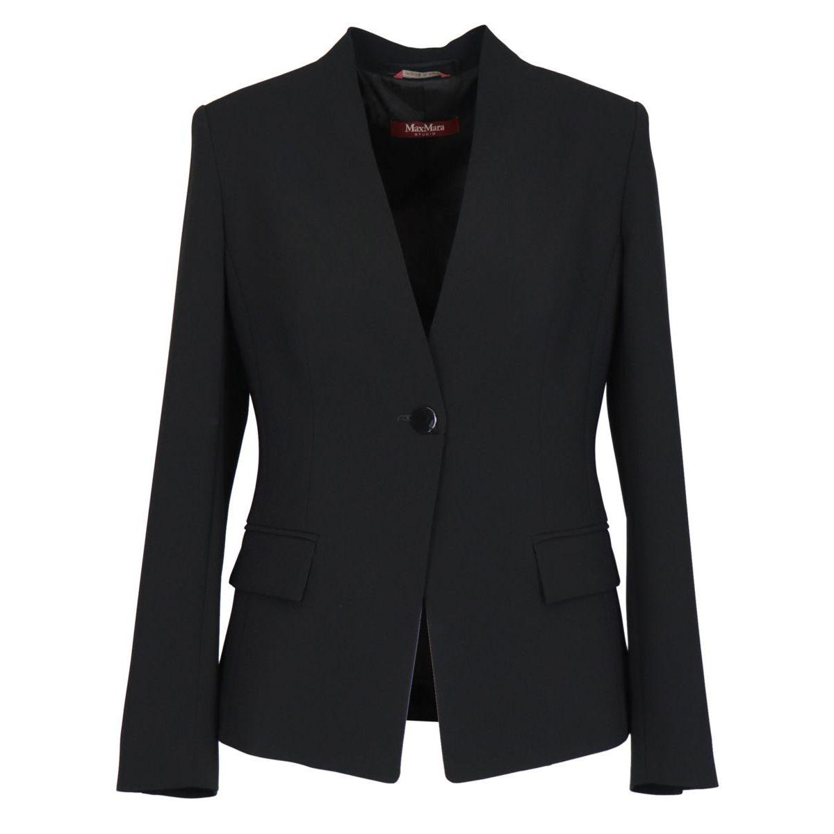 Urbania acetate jacket Black MAX MARA STUDIO