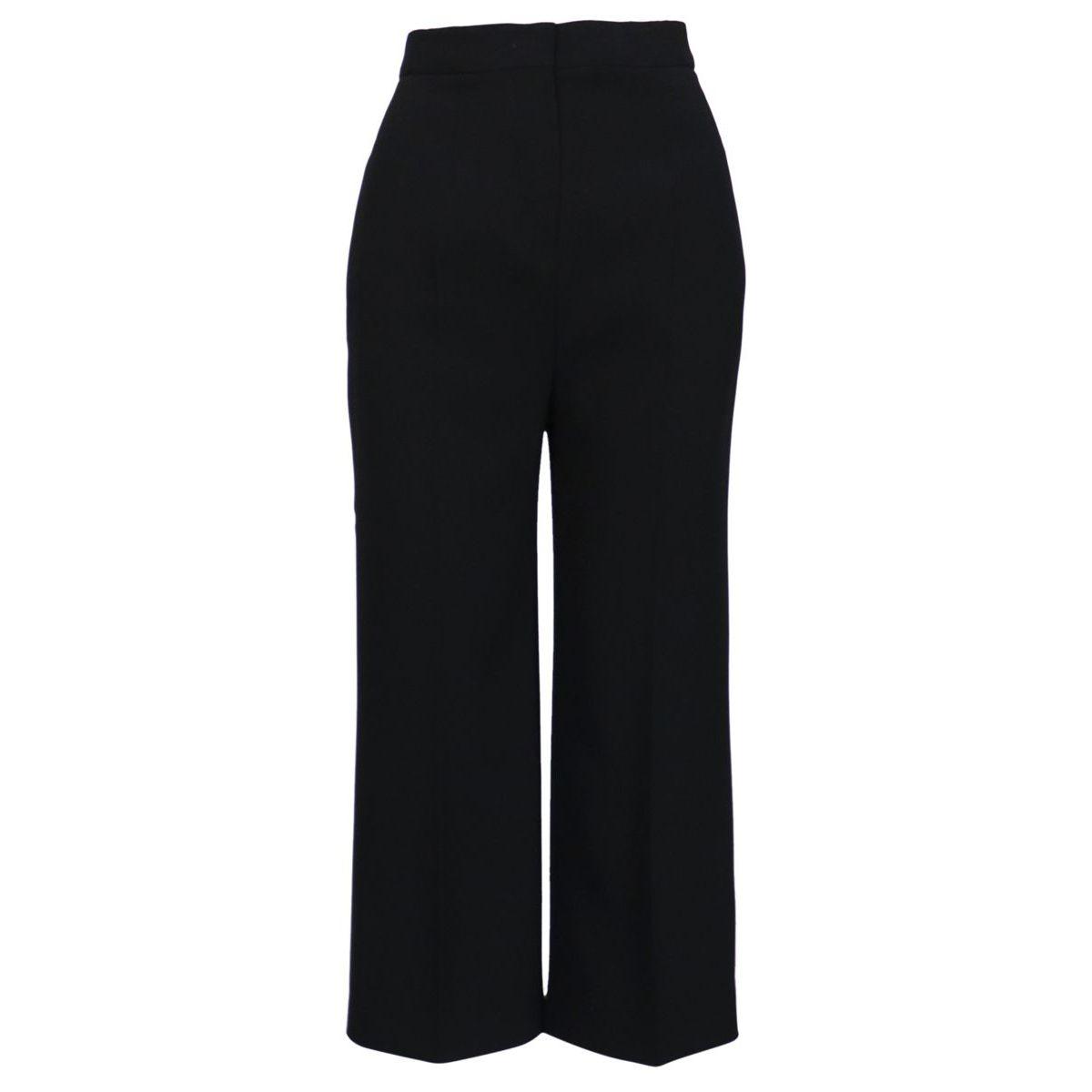 Augusta acetate trousers Black MAX MARA STUDIO