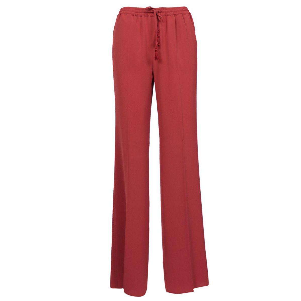 Placido acetate trousers India red MAX MARA STUDIO