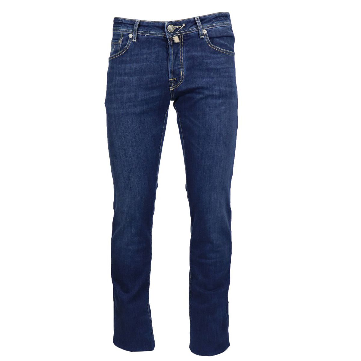 5 pocket slim jeans in dark denim Medium denim Jacob Cohen