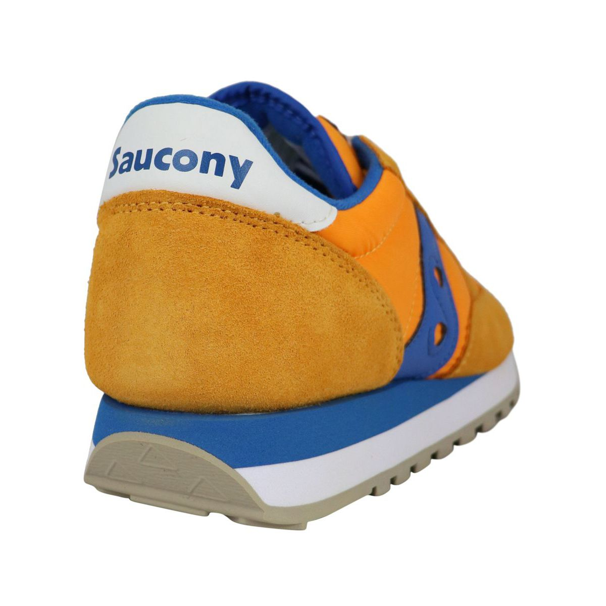 Jazz O sneakers in suede Orange / blue Saucony