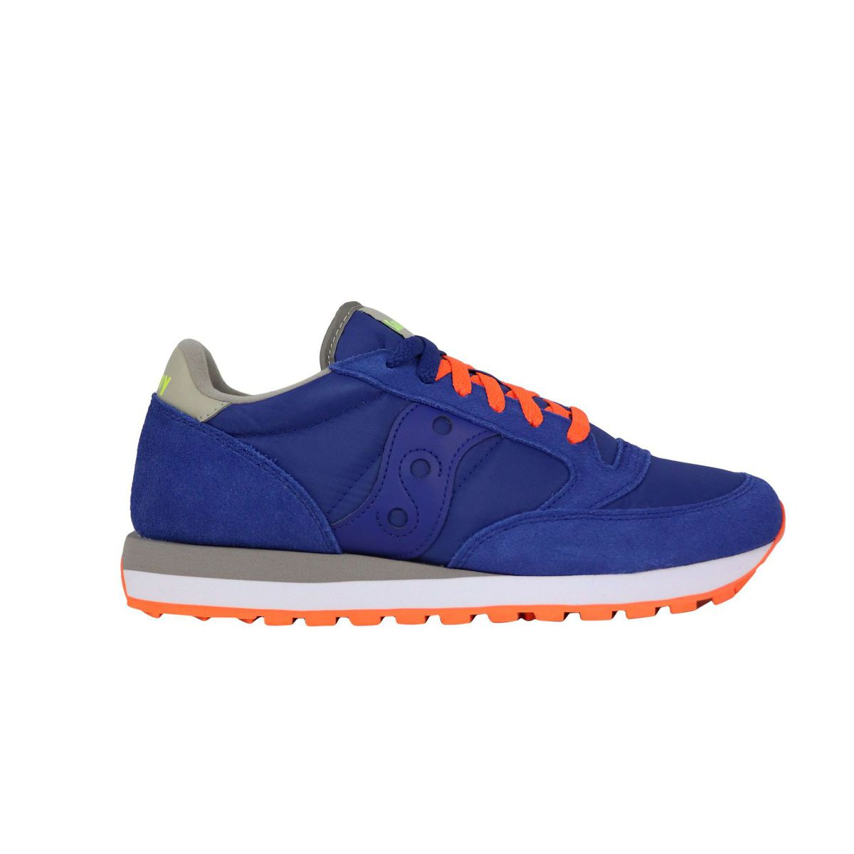 Jazz O sneakers in suede Blue \ orange Saucony