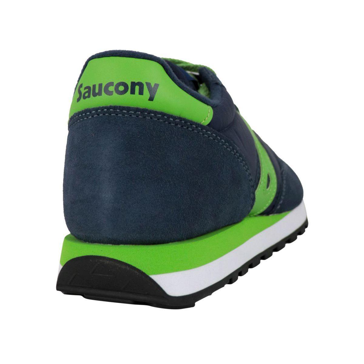 Jazz O sneakers in suede Navy green Saucony