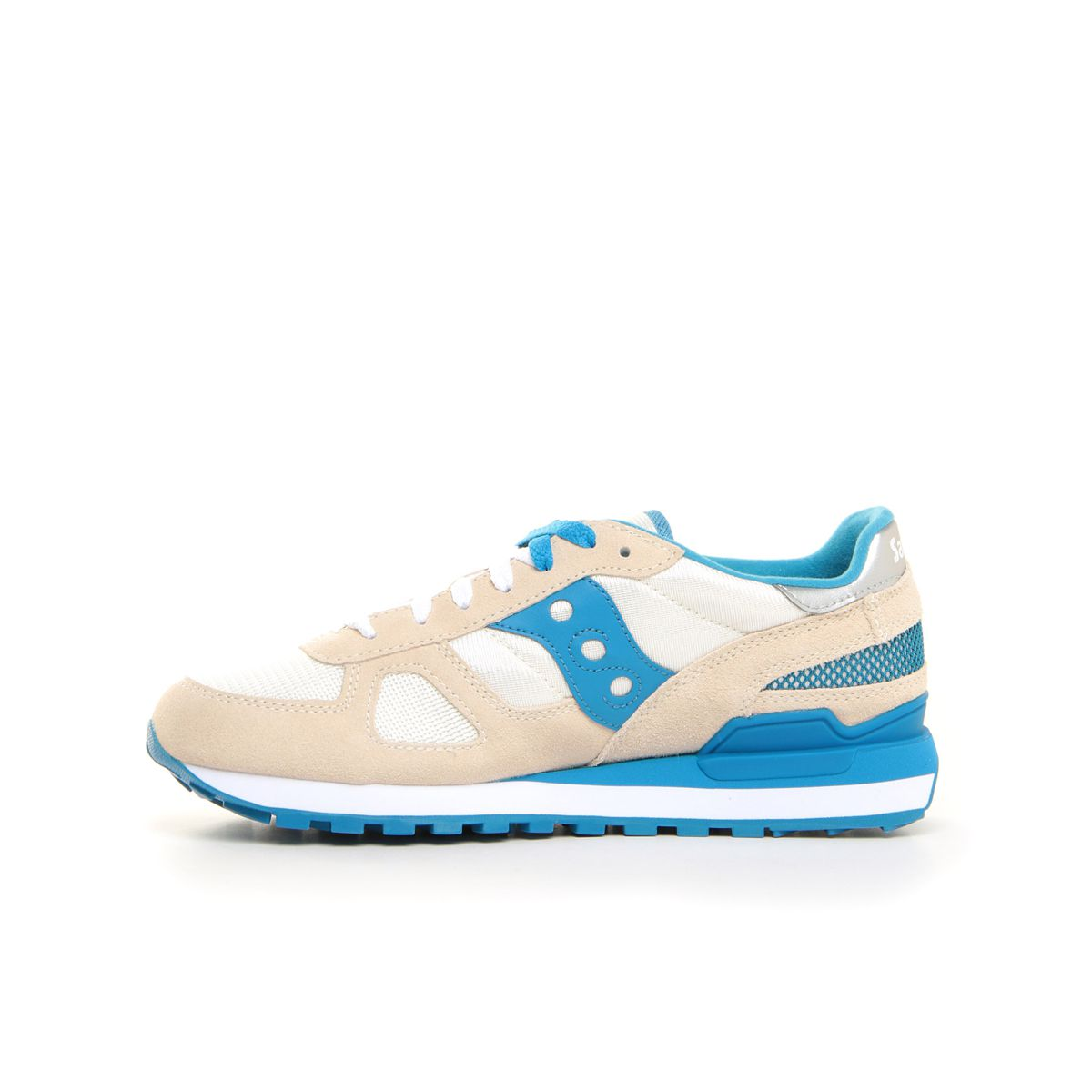 Shadow sneakers in suede White blue Saucony