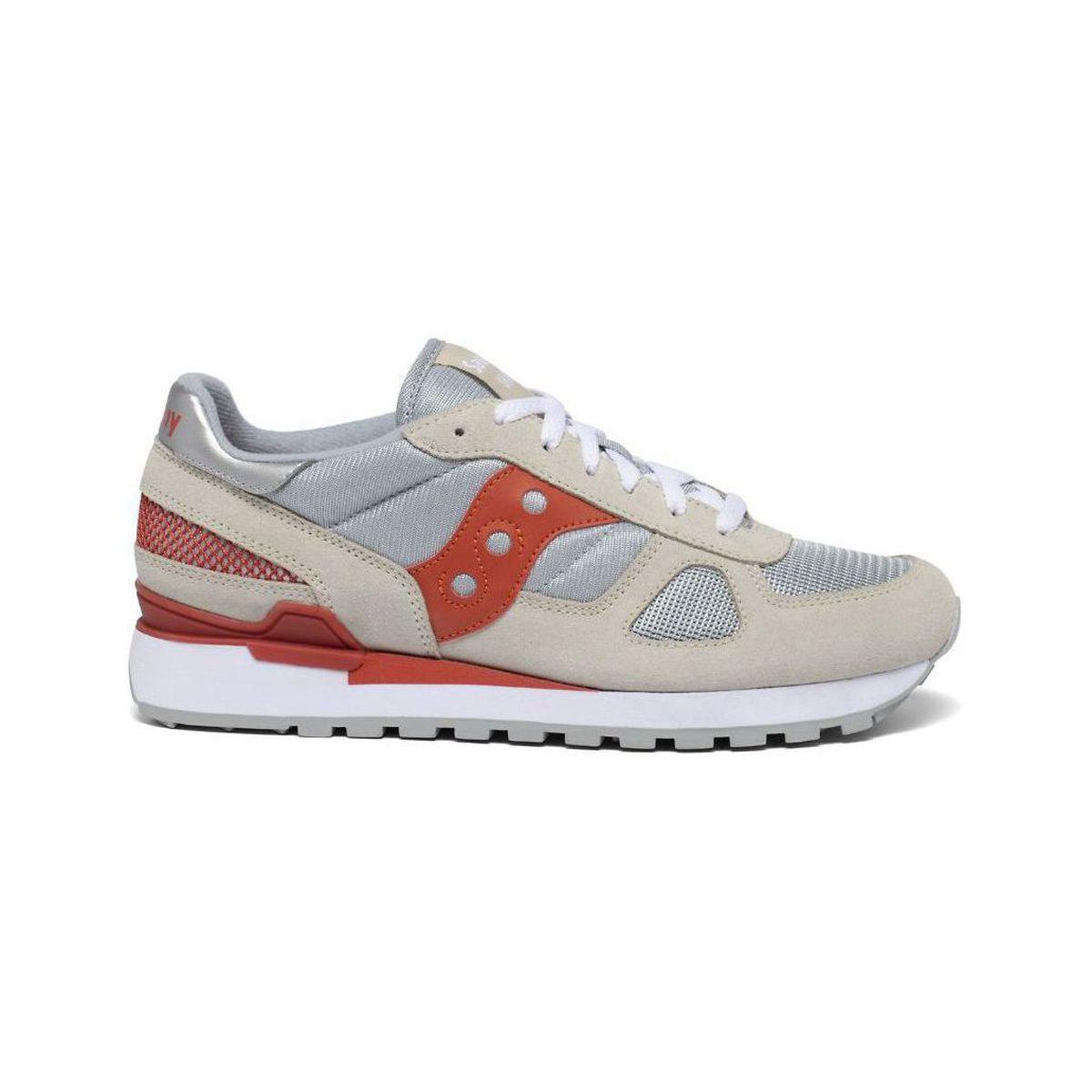 Shadow sneakers in suede Gray red Saucony