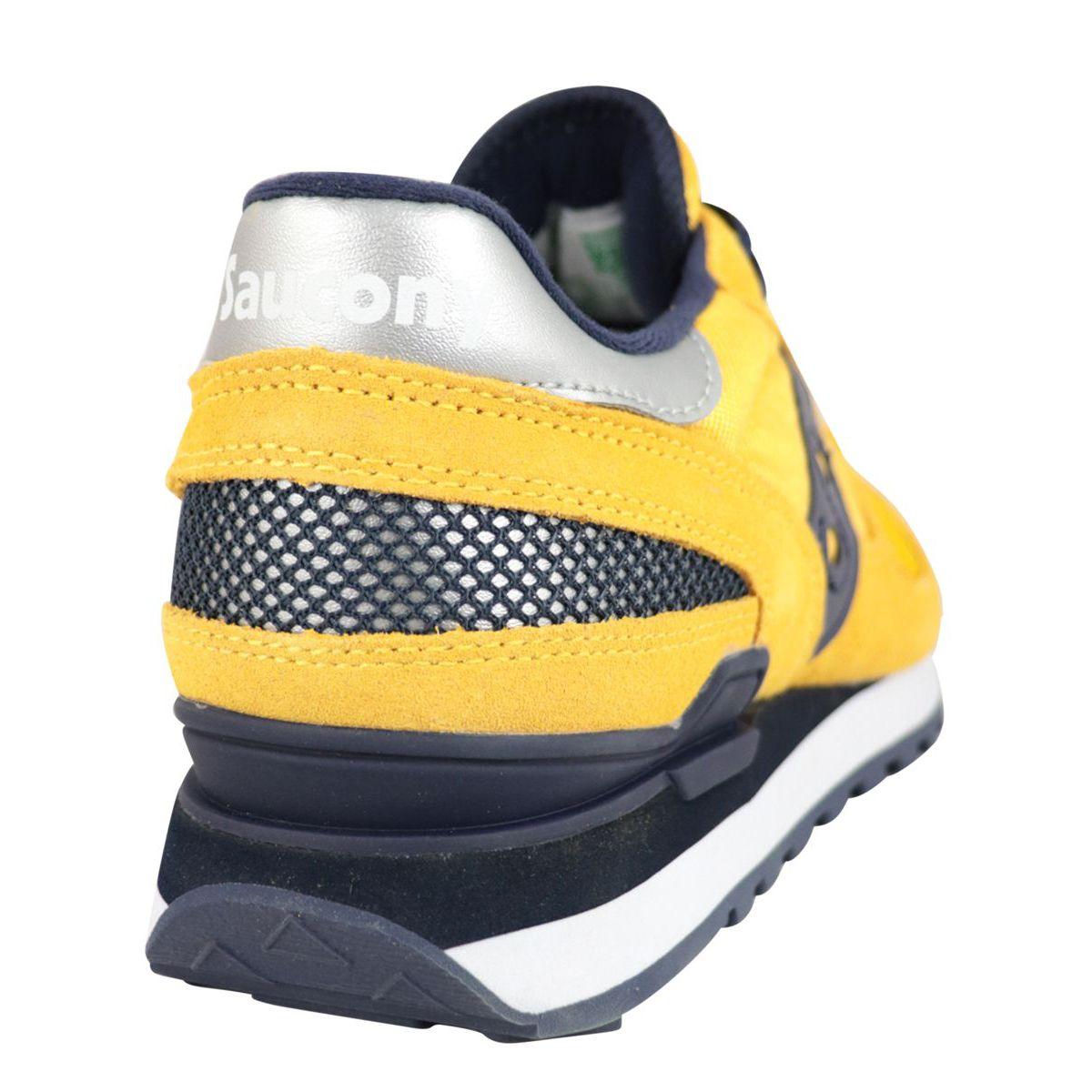 Shadow sneakers in suede Yellow navy Saucony