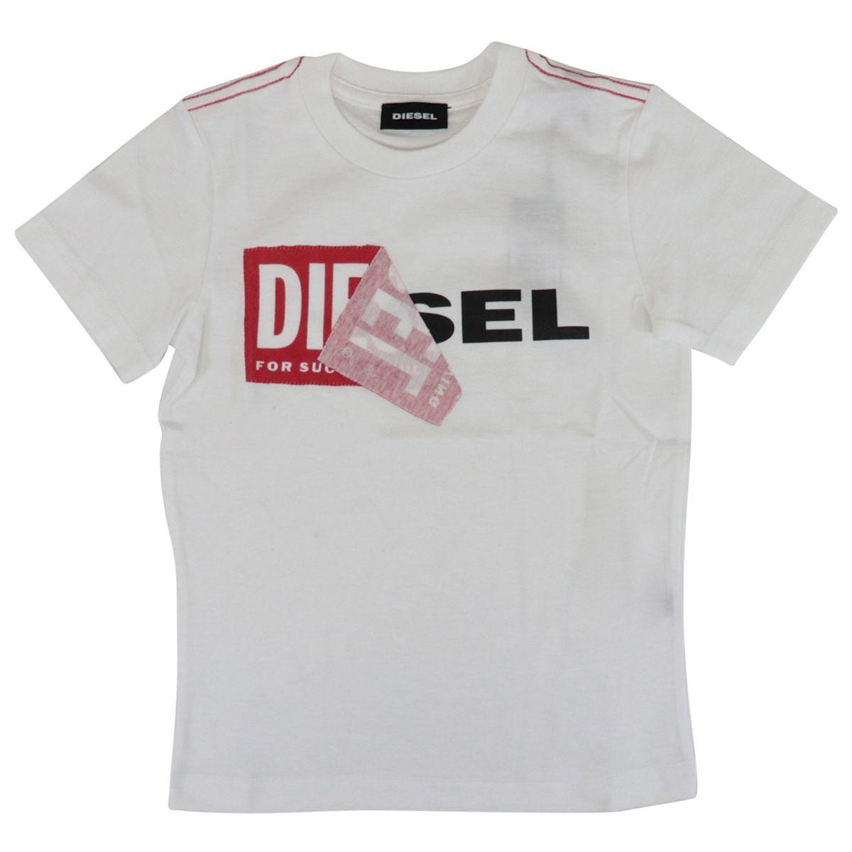 TOQUEB cotton t-shirt with print White Diesel