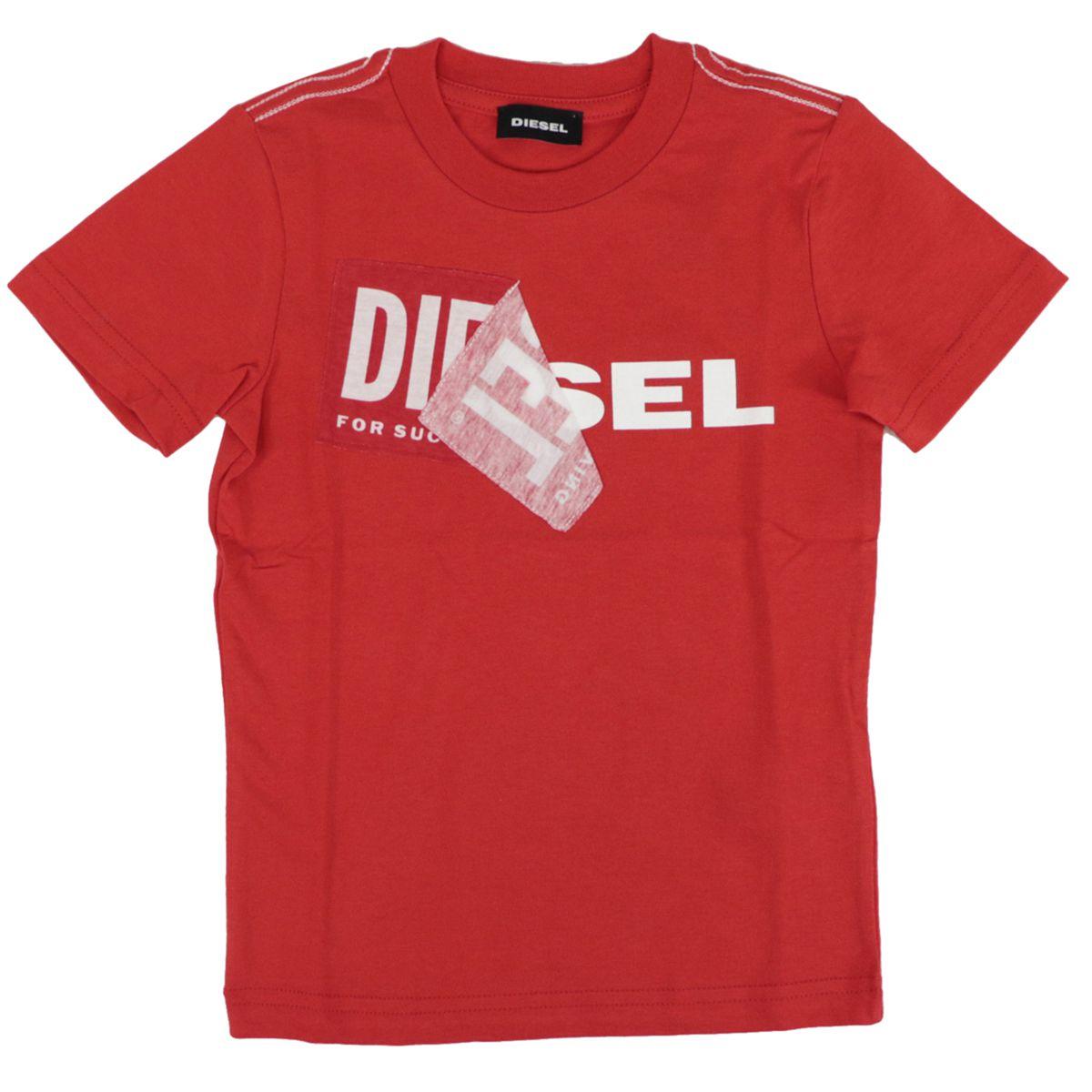 TOQUEB cotton t-shirt with print Red Diesel