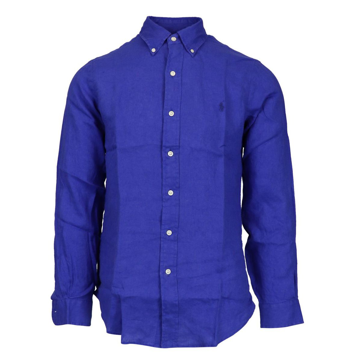 Custom-fit button-down linen shirt Royal Polo Ralph Lauren