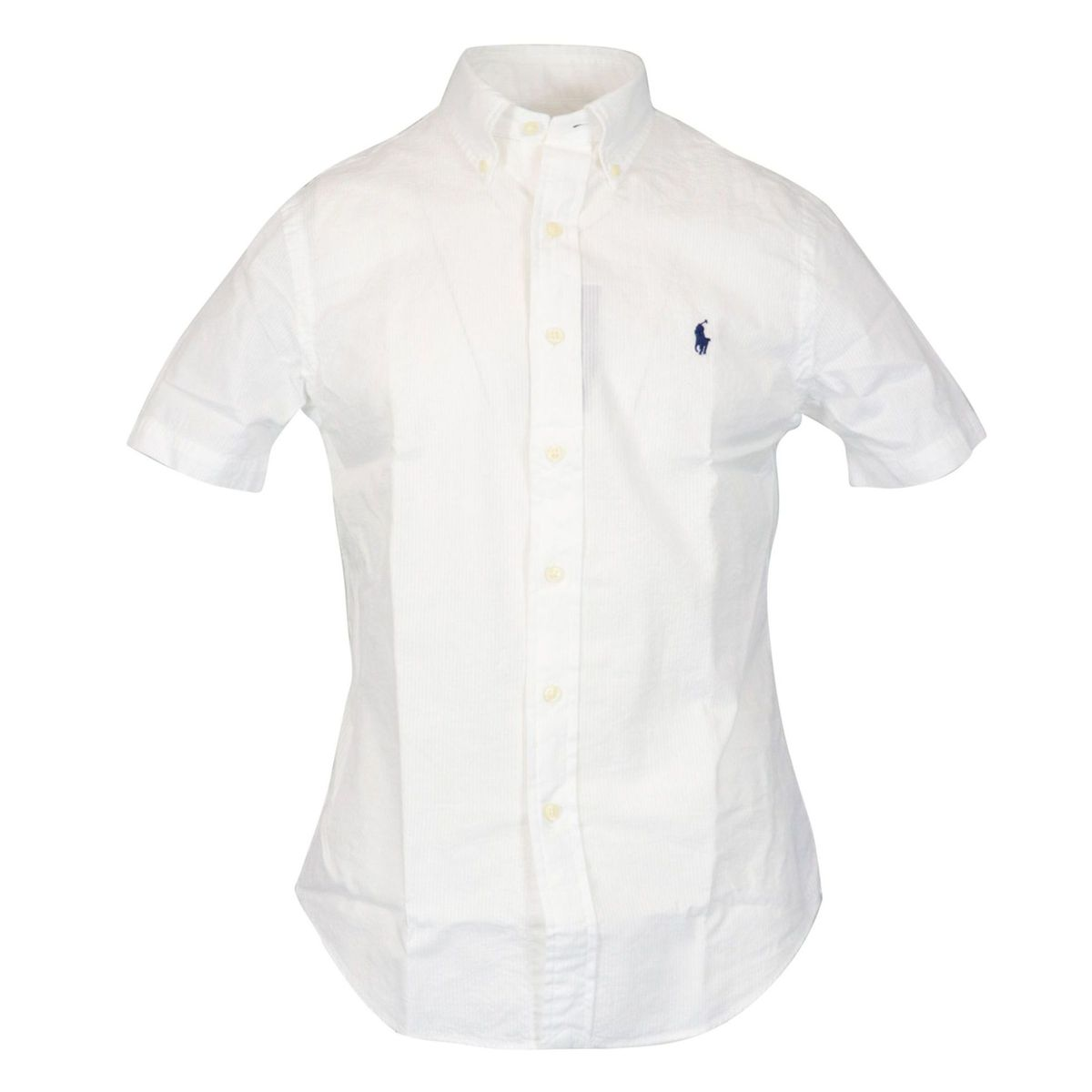 Custom-fit button-down cotton shirt White Polo Ralph Lauren