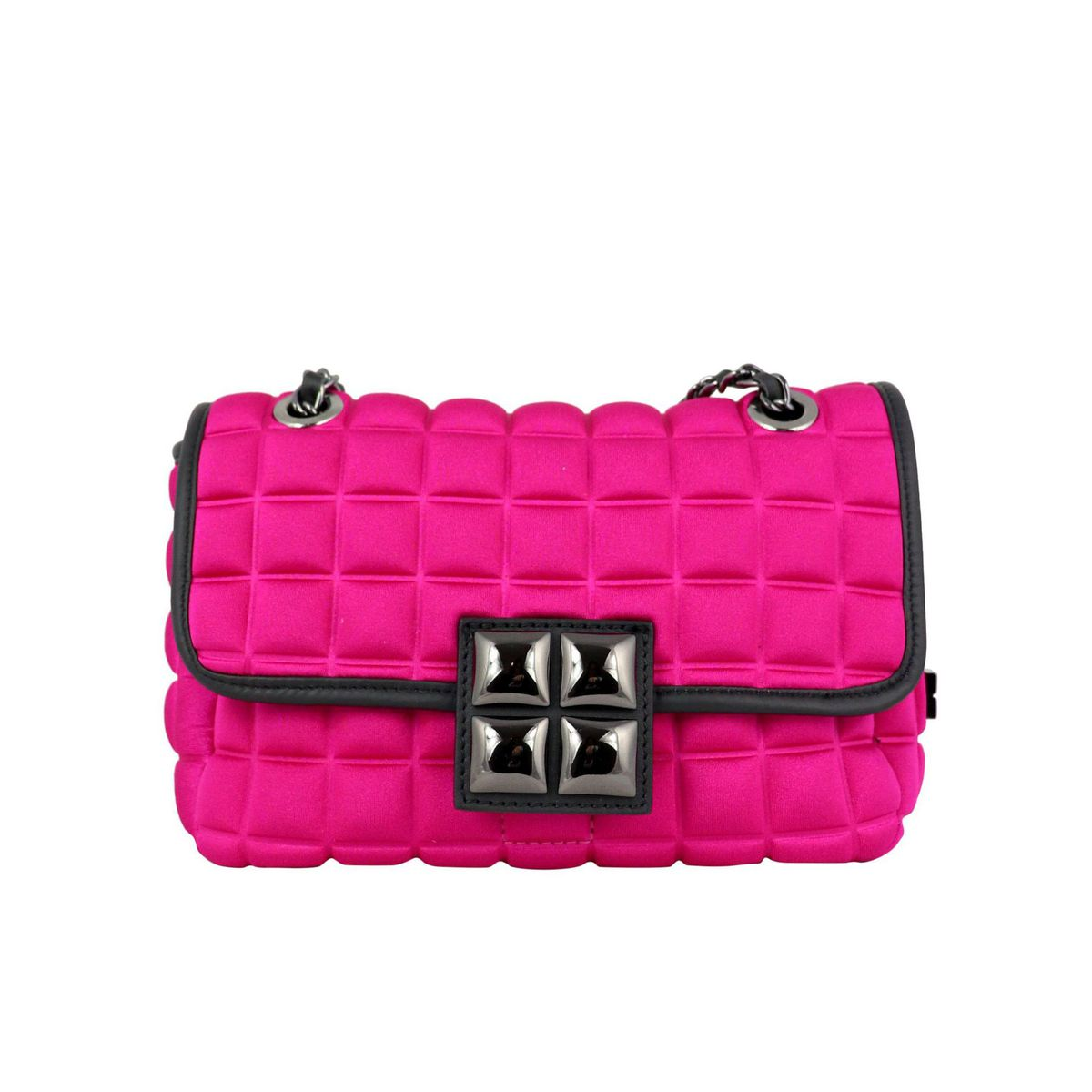 Small New Chain bag Fuchsia BPRIME